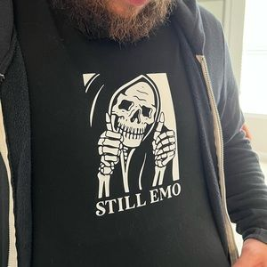 Still emo graphic t-shirt
